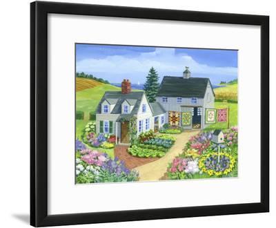 Quilt Barn by Geraldine Aikman
