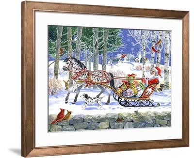 Santa's Sleigh Ride by Geraldine Aikman