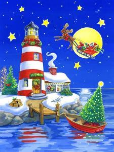 Striped Lighthouse by Geraldine Aikman