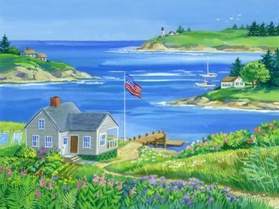 Summer View by Geraldine Aikman