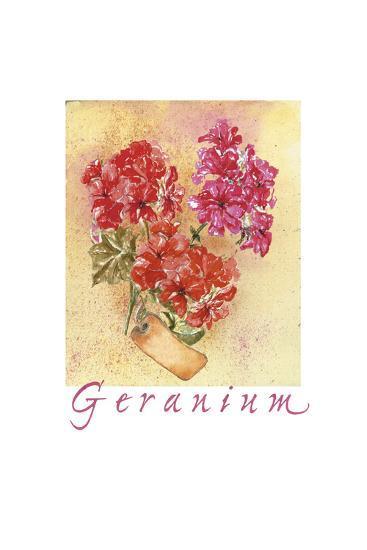 Geraniol SC-Maria Trad-Premium Giclee Print