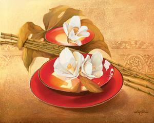 Lustrous Dish by Gerard Beauvoir