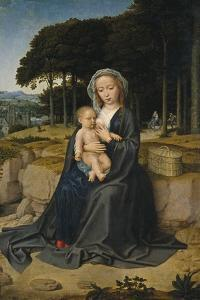 Rest on the Flight into Egypt, Ca 1515 by Gerard David