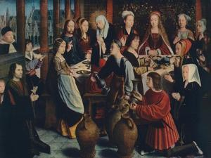 'The Marriage at Cana', c1500 by Gerard David