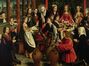 The Marriage Feast at Cana, circa 1500-03 by Gerard David