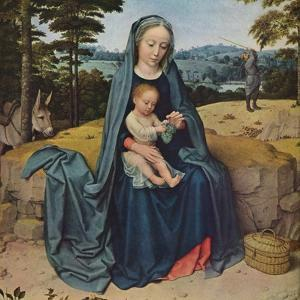 'The Rest on the Flight into Egypt', c1510 by Gerard David