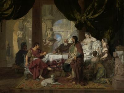 Cleopatra's Banquet, c.1675-80