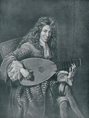 Charles Mouton, (C1626-1710). French Lutenist and Lute Composer
