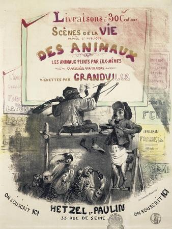 Scenes De La Vie Des Animaux