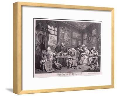 Marriage a La Mode, 1745, Plate I