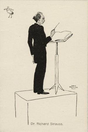 STRAUSS Richard conducting