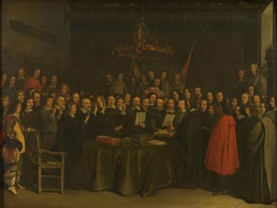 Ratification of the Peace of Münster