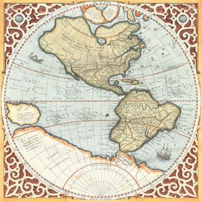 Terra Major Petites A by Gerardus Mercator
