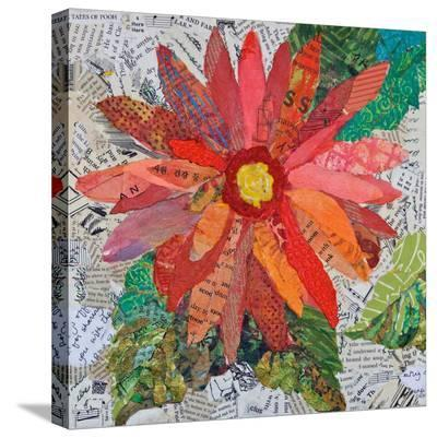 Gerber Daisy--Stretched Canvas Print