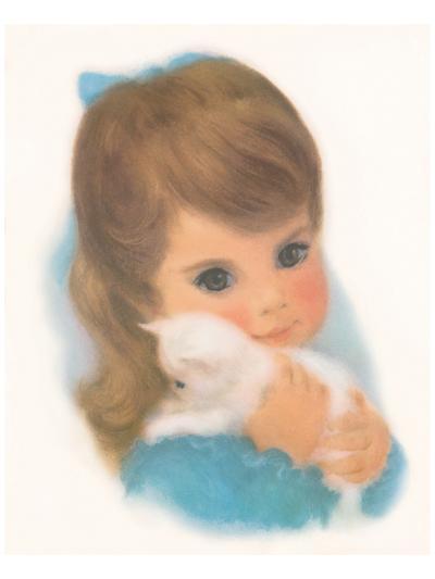 Gerber, Kitty Girl--Art Print