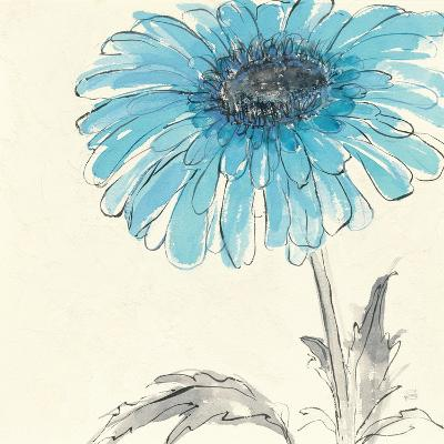 Gerbera Blue II-Chris Paschke-Art Print