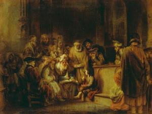 Jesus Christ, at Age Twelve, Among the Scribes in the Temple by Gerbrand Van Den Eeckhout