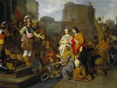 Continence of Scipio, 1650-55