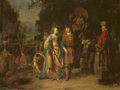 Isaac and Rebecca by the Well of Lahai-Roi