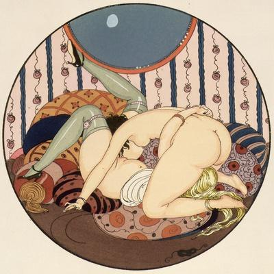 The Connoisseurs, Illustration from the Pleasures of Eros, 1917