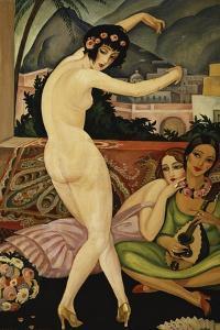 The Dancer; La Danseuse by Gerda Marie Frederike Wegener