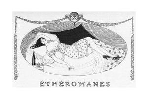 A Comatose Etheromane by Gerda Wegener