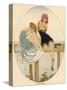 Bathing Beauties 1916 by Gerda Wegener