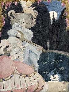 Elegante et Pierrot by Gerda Wegener
