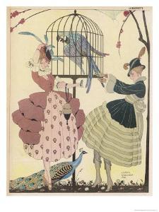 Fine Feathers in Wartime by Gerda Wegener