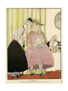 Historical Illustration by Gerda Wegener