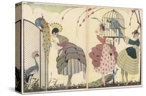 "Satire on the Current ""Peacock"" Modes by Gerda Wegener"