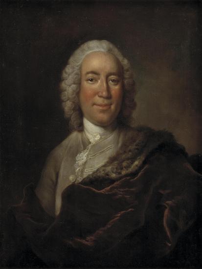 Gerhard Morell, Curator of the Royal Danish Kunstkammer-Johann Salomon Wahl-Giclee Print