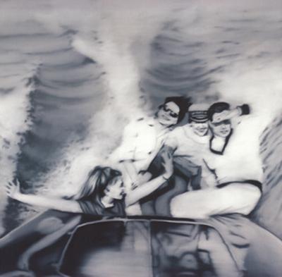 Motorboat by Gerhard Richter