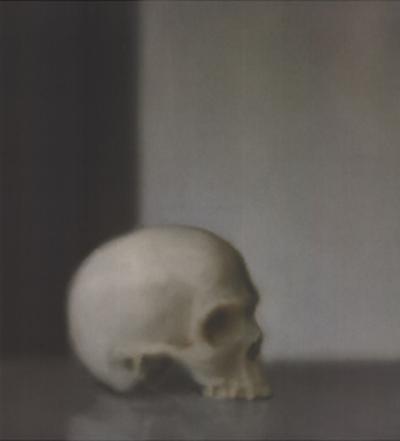 Schadel (Skull) by Gerhard Richter