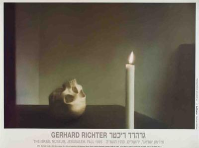 Skull with Candle by Gerhard Richter
