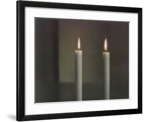 Two Candles by Gerhard Richter