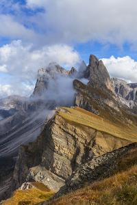Europe, Italy, the Dolomites, South Tyrol, Seceda, Geisler Group by Gerhard Wild