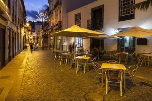 Pedestrian Area, Santa Cruz De La Palma, La Palma, Canary Islands, Spain, Europe by Gerhard Wild