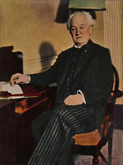 'Gerhart Hauptmann - Geb. 1862', 1934-Unknown-Giclee Print