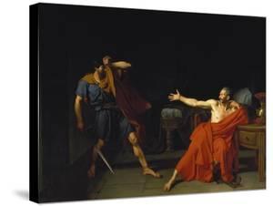 Marius at Minturnae (After Plutarch), 1786 by Germain-Jean Drouais