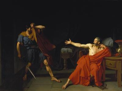 Marius at Minturnae (After Plutarch), 1786 by Germain-Jean Drouais