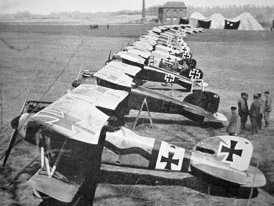 German Aircraft on the Western Front, July 1917--Photographic Print