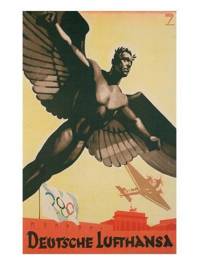 German Airforce Poster--Art Print