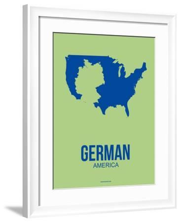 German America Poster 1-NaxArt-Framed Art Print