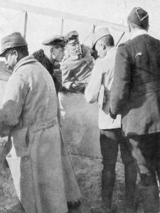 German Aviators Shot Down by French Ace Jean Navarre, 1916