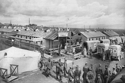 German Bandaging Station at Vigneulles, Lorraine, France, World War I, 1915--Giclee Print
