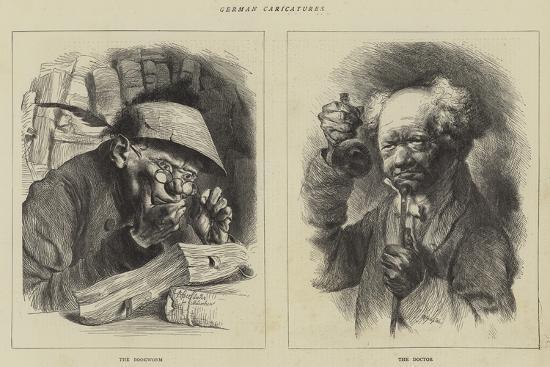 German Caricatures--Giclee Print