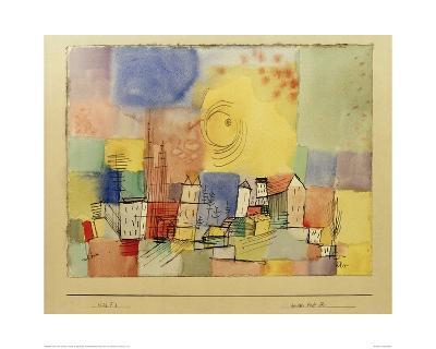German City BR-Paul Klee-Giclee Print