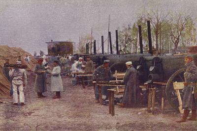 German Field Bakery, World War I, 1914-1915--Photographic Print
