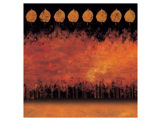 German Forest at Night-Von Udo-Art Print